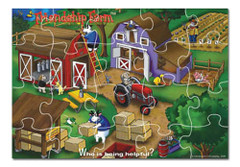 Who is Being Helpful? Friendship Farm Puzzle Game