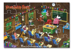 Who Is Following the Rules? Friendship Farm Puzzle Game