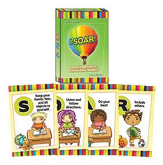 I Soar! Safety, Organization, Achievement, Respect Card Game