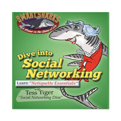 Smart Sharks - Dive into Social Networking: Netiquette Essentials Card Game