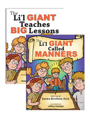 The Li'l Giant  Teaches BIG Lessons: Lesson and Activity Book, Storybook, & CD
