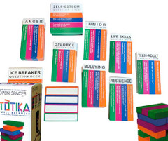 Totika Stacking Game with 10 Sets of Cards