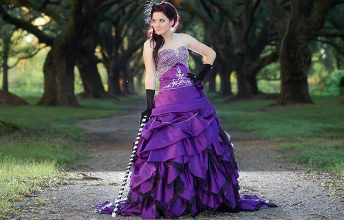 Purple wedding dresses junglespirit Gallery