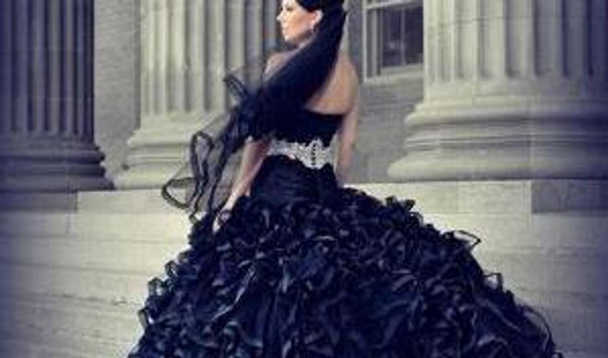 Black wedding dresses junglespirit Images