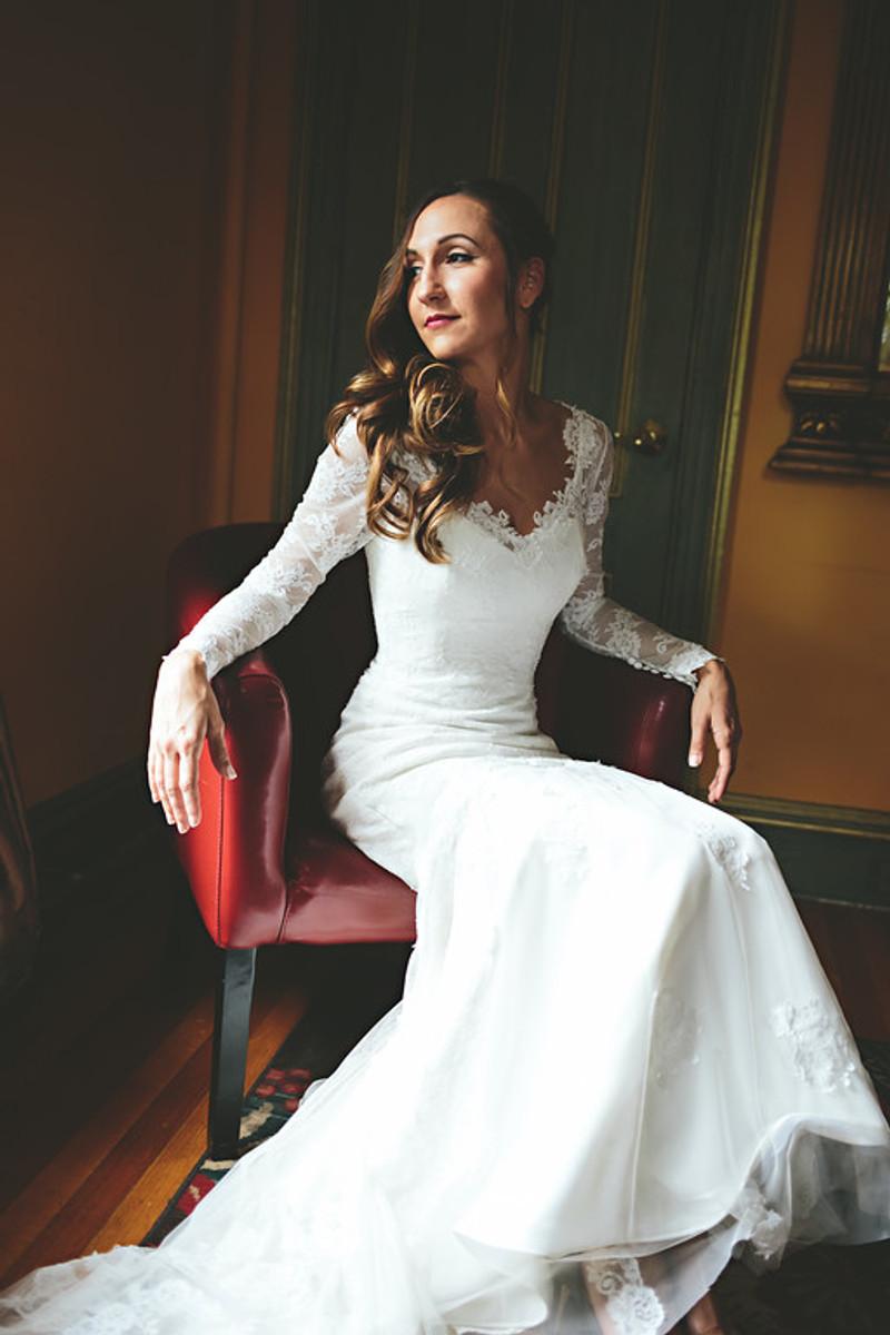Custom wedding dress with chantilly lace junglespirit Choice Image
