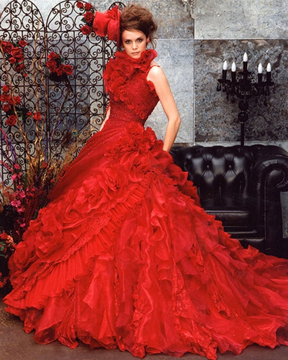 Red Wedding Dress - Available in Every Color 2