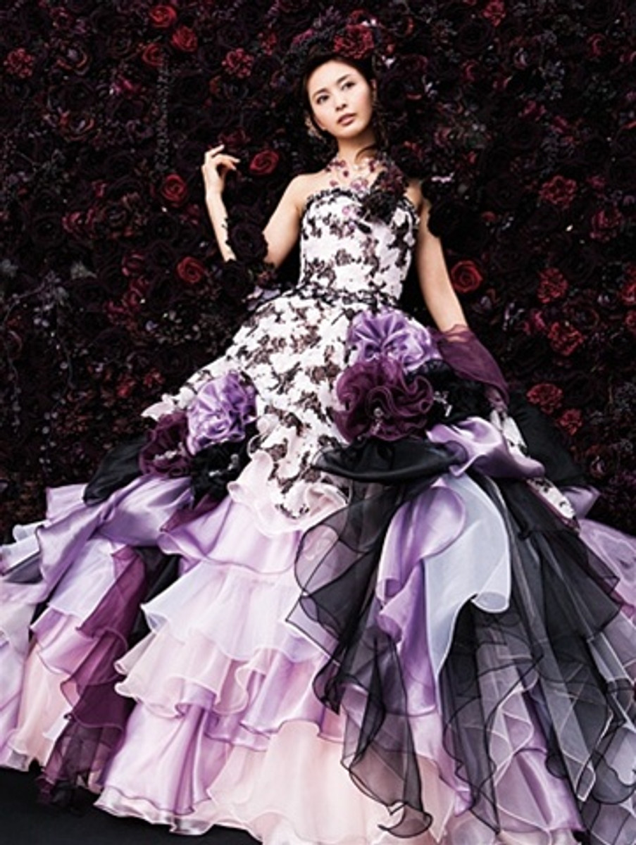 Purple bridal gown purple bridal gown available in every color junglespirit Gallery