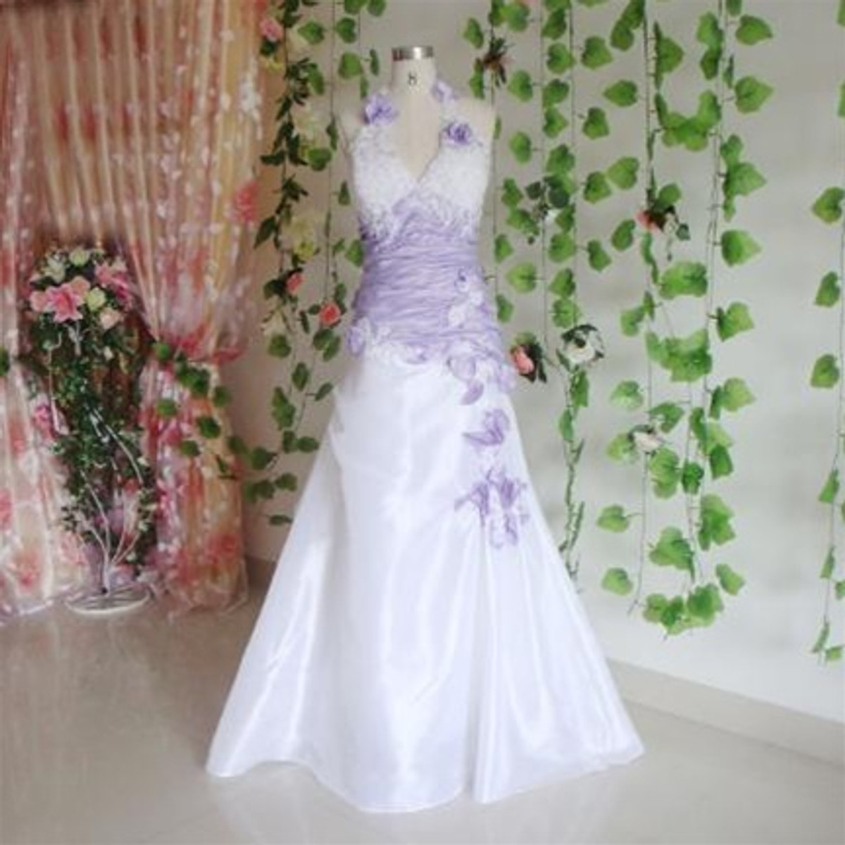 Purple wedding dress lavender wedding dress purple wedding dress available in every color 7 junglespirit Image collections