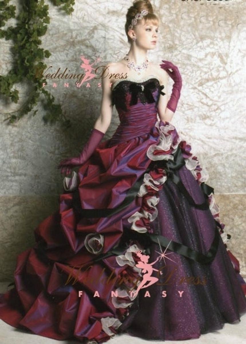 Purple wedding dress purple unique wedding dress junglespirit Gallery