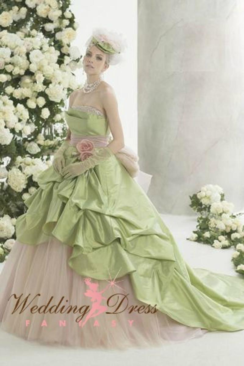 Green wedding dress junglespirit Image collections