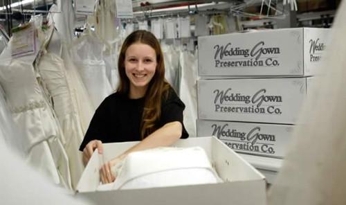 Organic Wedding Dress Preservation Kit