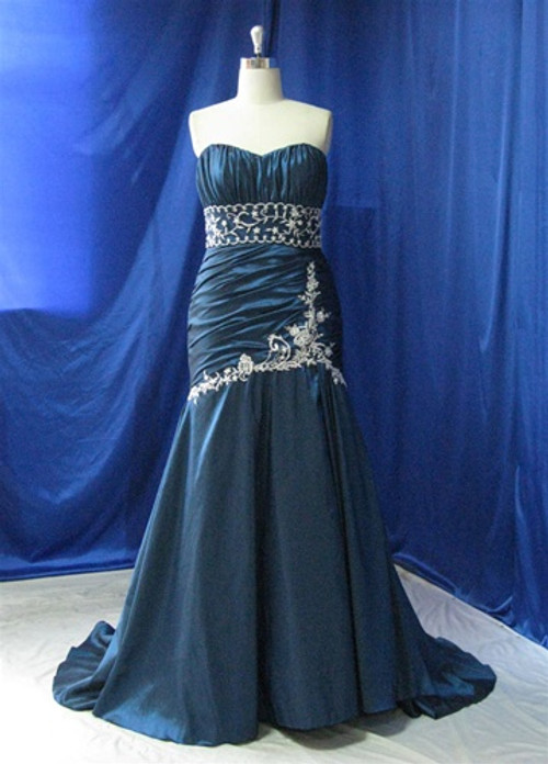 Blue Wedding Dress - Available in Every Color 15