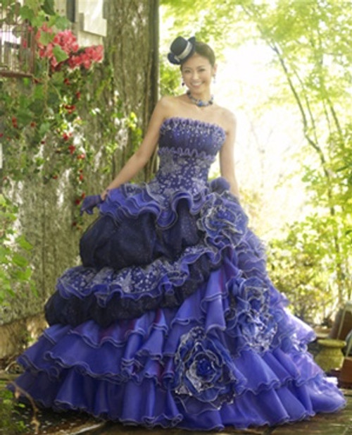 Blue Wedding Dress - Available in Every Color 21