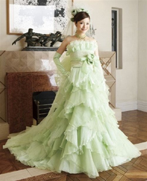 Green Wedding Dress - Available in Every Color 1