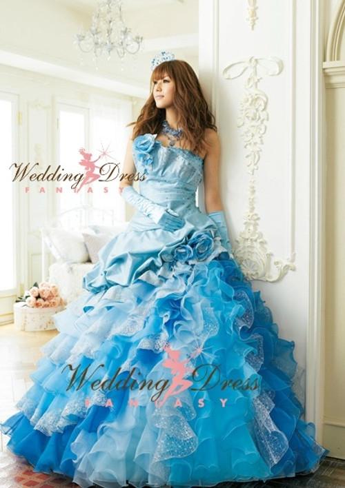 Pale Blue Wedding Dress Available in Every Color