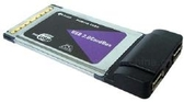 PCMCIA-to-USB 2.0 Forensic Capture Card Adapter