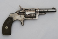 Harrington & Richardson Model 1 1/2 Spur Trigger Revolver Right Side