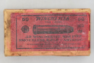 Winchester 22 WRF Smokeless Rifle Cartridges 1921 Issue Top