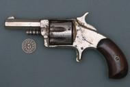 Wesson & Harrington No 5 Spur Trigger Revolver Left Side