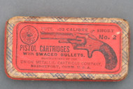 Union Metallic Cartridge Co. 32 Calibre Short No. 2 Pistol Cartridges Top