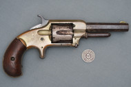 Whitneyville Armory No. 1 1/2 32 Rim Fire Revolver Serial # 8528 Right Side