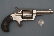 G. W. T. & R. Mountain Eagle Spur Trigger Revolver S# 9515 Right Side