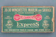 30-30 Winchester, Marlin and Savage Mushroom Express Train Box Top