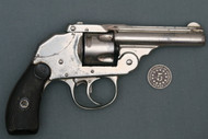 Iver Johnson Small Frame Hammerless Safety Automatic Revolver, 1st Var S# 31933 Right Side