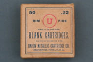 Union Metallic Cartridge Co. 32 Rim Fire Blank Cartridges Circa 1905 Front Side