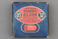 US Cartridge Co 32 Rim Fire Blank Cartridges 1919 Issue Front Side