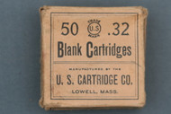 US Cartridge Co. 32 Rim Fire Blank Cartridges Circa 1910 Front Side