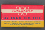 Winchester 32 Long Rim Fire Staynless Cartridges 1946 2nd Issue Top