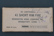 Remington 41 Short Rim Fire Cartridges Top