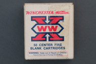 Winchester 38 S&W Blank Cartridges Front