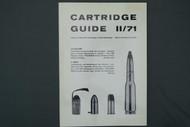 Cartridge Guide 11/71 Sporting Goods GMBH 2nd Volume