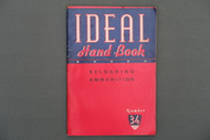 Ideal Hand Book Reloading Ammunition Number 34