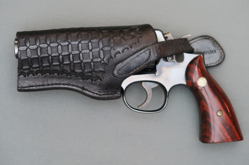 Federal Man by Bucheimer Left Handed Holster for S&W K Frame ...