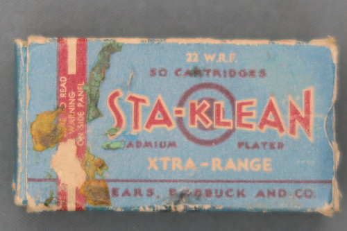 Sears, Roebuck and Co Sta-Klean Xtra-Range 22 WRF Cartridges Top