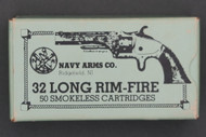 Navy Arms 32 Long Rim Fire Smokeless Cartridges Top