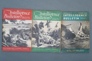 World War 2 Intelligence Bulletins, Oct 1944, Jan 1945 & Feb 1945