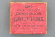 45-70 Government Central Fire Blank Cartridges Top