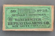 Winchester No. 32 Long Metallic Cartridges Top