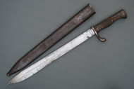 German Model 1898/05 Butcher Blade Bayonet Left Side