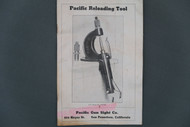 Pacific Reloading Tool Catalog and Instructions