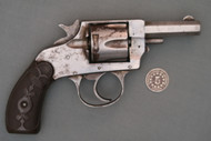 Forehand Arms Co. 32 S&W Double Action Revolver S# 97372 Right Side