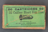32 Short Rim Fire Cartridges by Quintana Hermanos Top