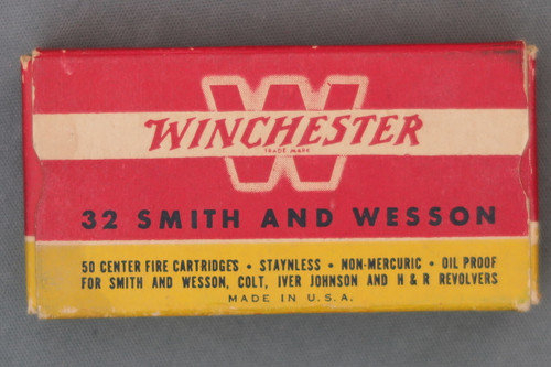 Winchester 32 Smith and Wesson Cartridges Top