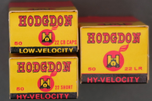 Hodgdon 22 Rim Fire Ammo, CBs, Shorts and Long Rifles