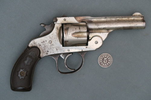 Forehand Arms Co. 32 S&W Double Action Top Break Revolver S# 241341 Right Side