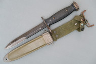 Vietnam War Era US M7 BOC Bayonet in USM8A1/WD Scabbard